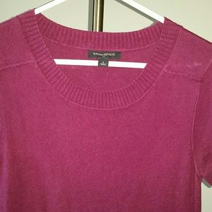 Small Banana Republic  Maroon Dress